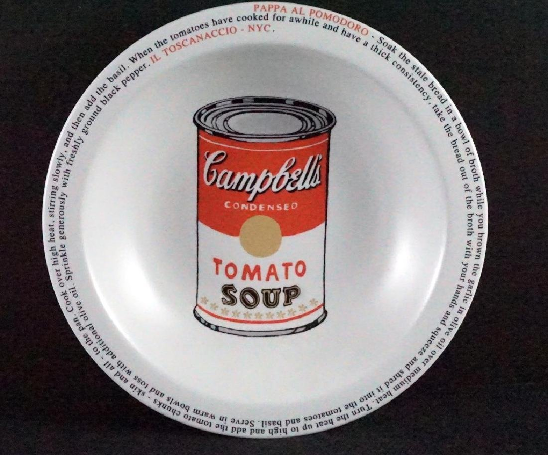 Mike Bidlo Campbell Soup Dish Not Andy Warhol