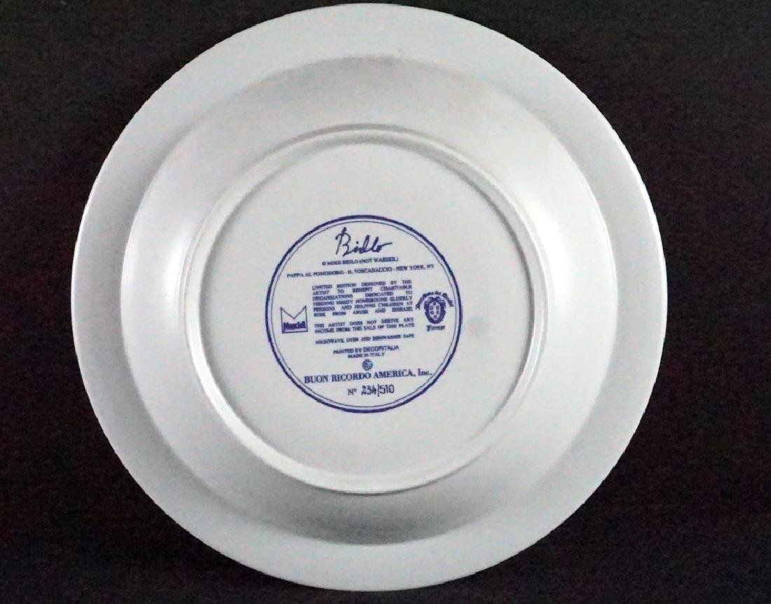 Mike Bidlo Campbell Soup Dish Not Andy Warhol - 2