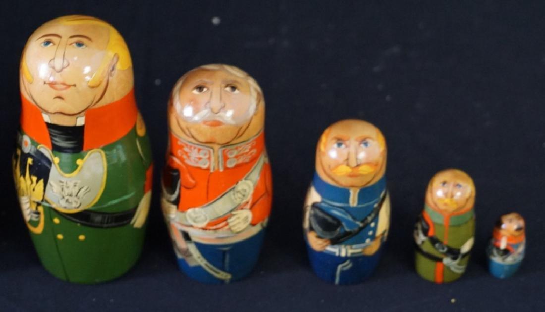 Russian Nesting Dolls Set of 9 - 2