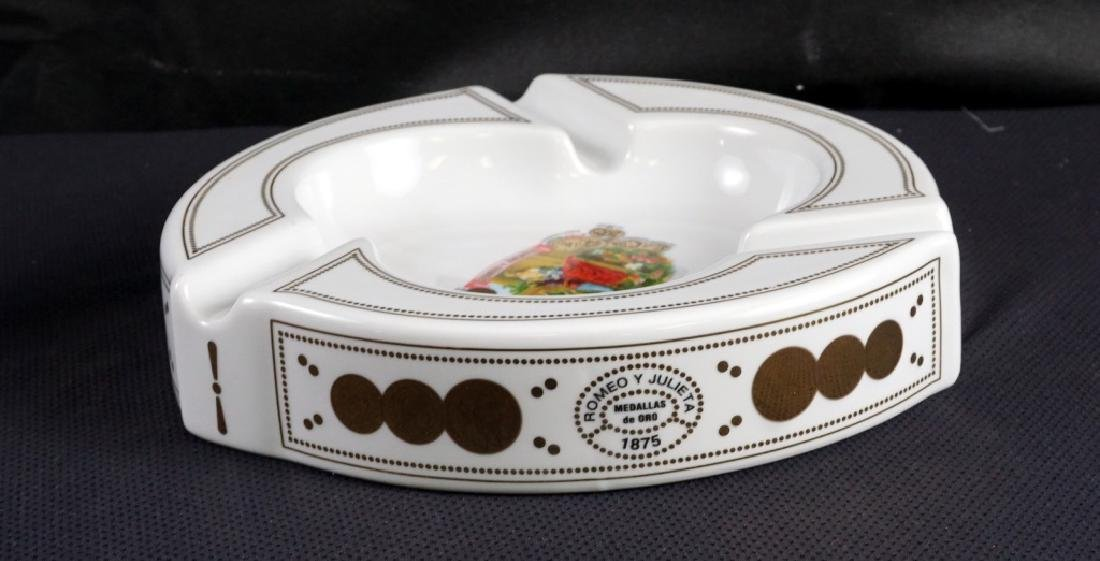Classic Romeo & Juliet Porcelain Cigar Ashtray - 3