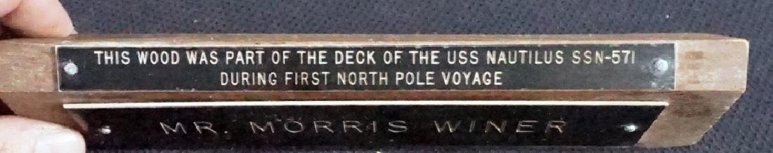 Deck Piece from USS Nautilus SSN-571