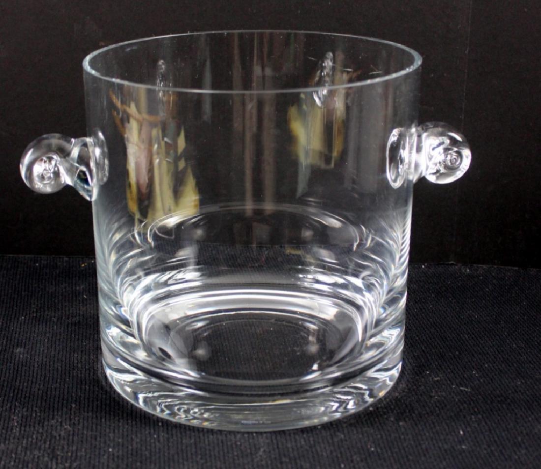 Tiffany & Co. Crystal Signed Ice Bucket