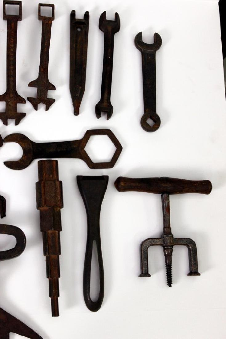 Collection of Antique Wrenches - 3