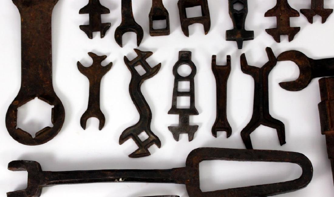 Collection of Antique Wrenches - 4