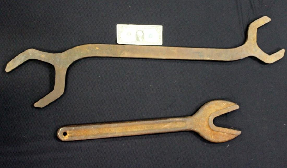 Vintage Armstrong and Alligator Railroad Wrenches - 2