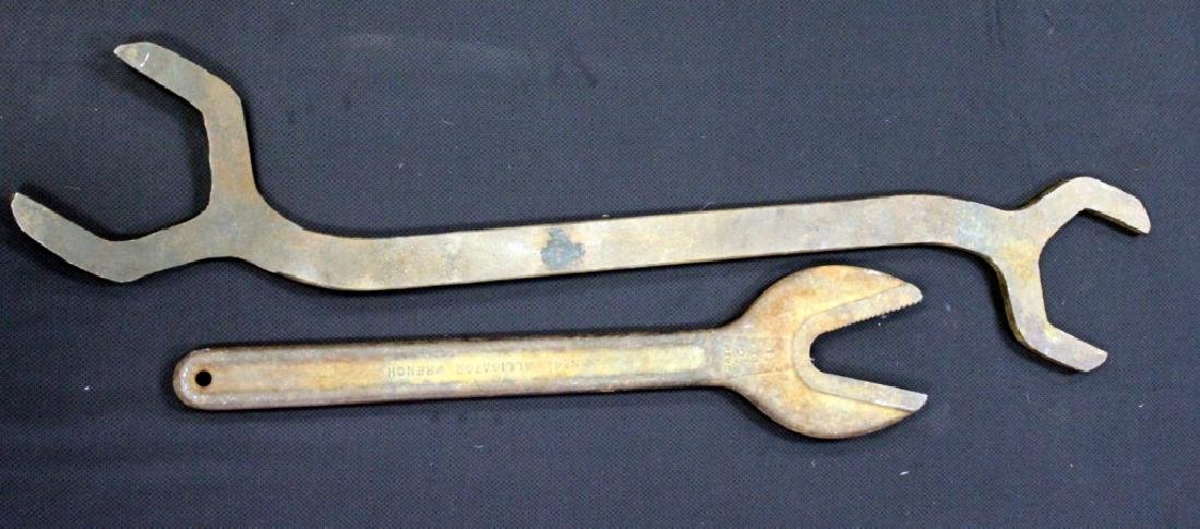 Vintage Armstrong and Alligator Railroad Wrenches - 3