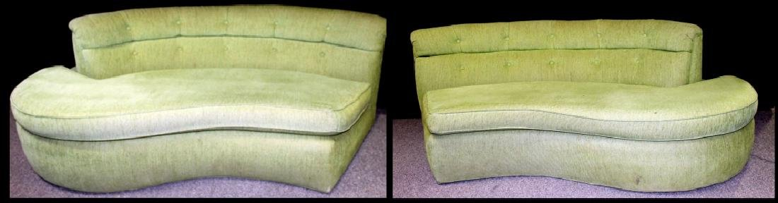 Lime Green 2-Piece Sofa