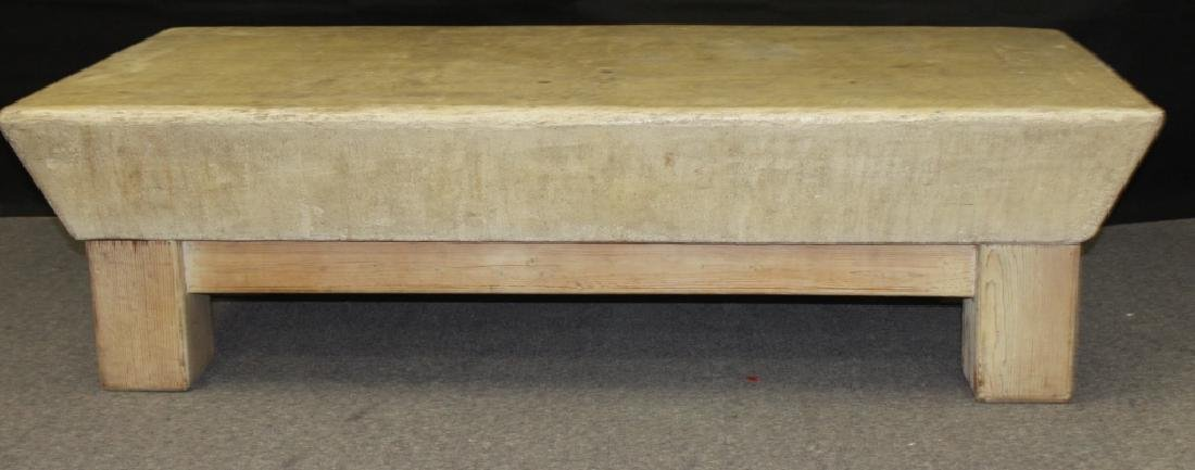 Coffee Table, Wood Base with Composite Top