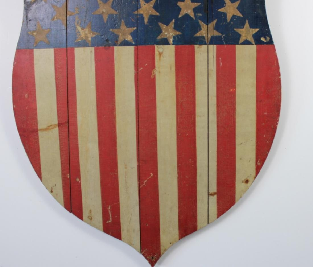 Early 20th C. Americana Shield owed by Andy Warhol - 3