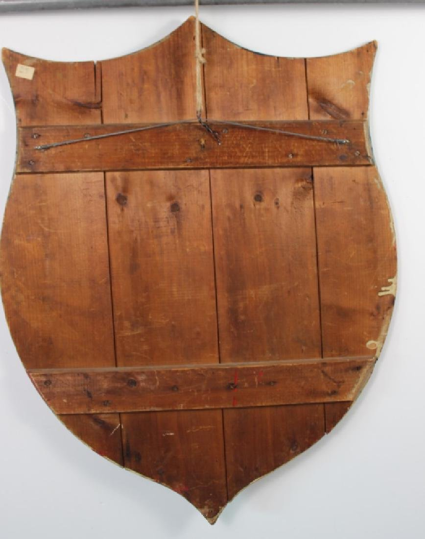 Early 20th C. Americana Shield owed by Andy Warhol - 4
