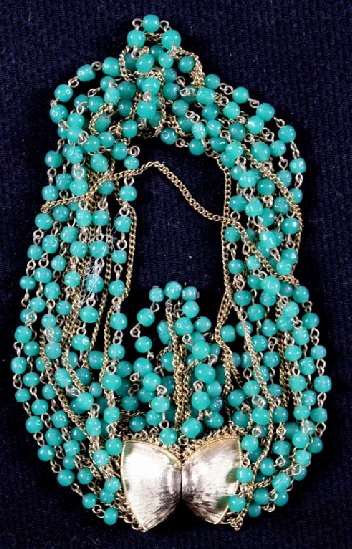 Two Vintage Costume Jewelry Plastic Bakelite - 2