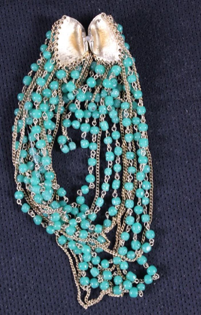 Two Vintage Costume Jewelry Plastic Bakelite - 3