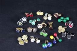 Tim Hunt Collection of Cufflinks - 19 Sets