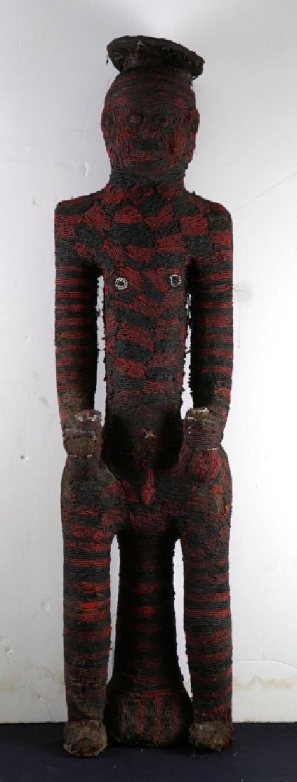Bamileke Beaded African Figure Andy Warhol Collection
