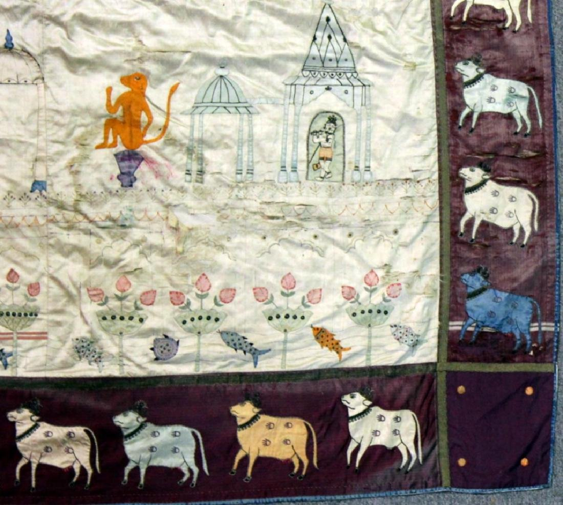 A Pichvai Wall Hanging, India, Early 20th Century - 6