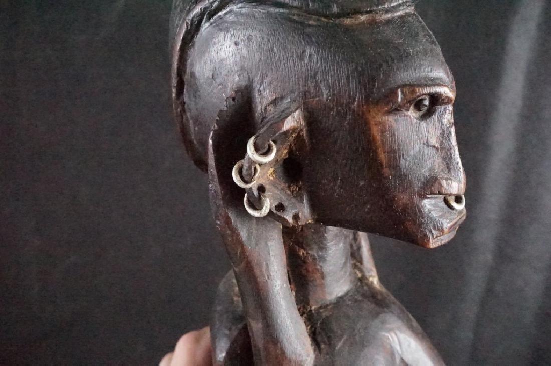 Dogan African Female Figure - 7