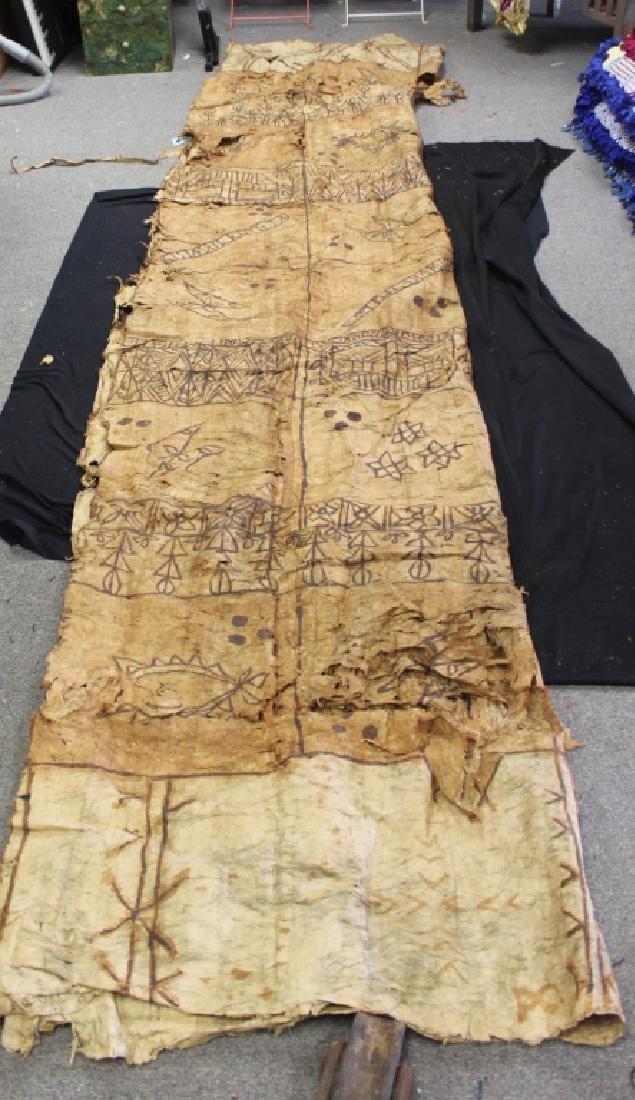 Tapa Cloth, Polynesian - 2