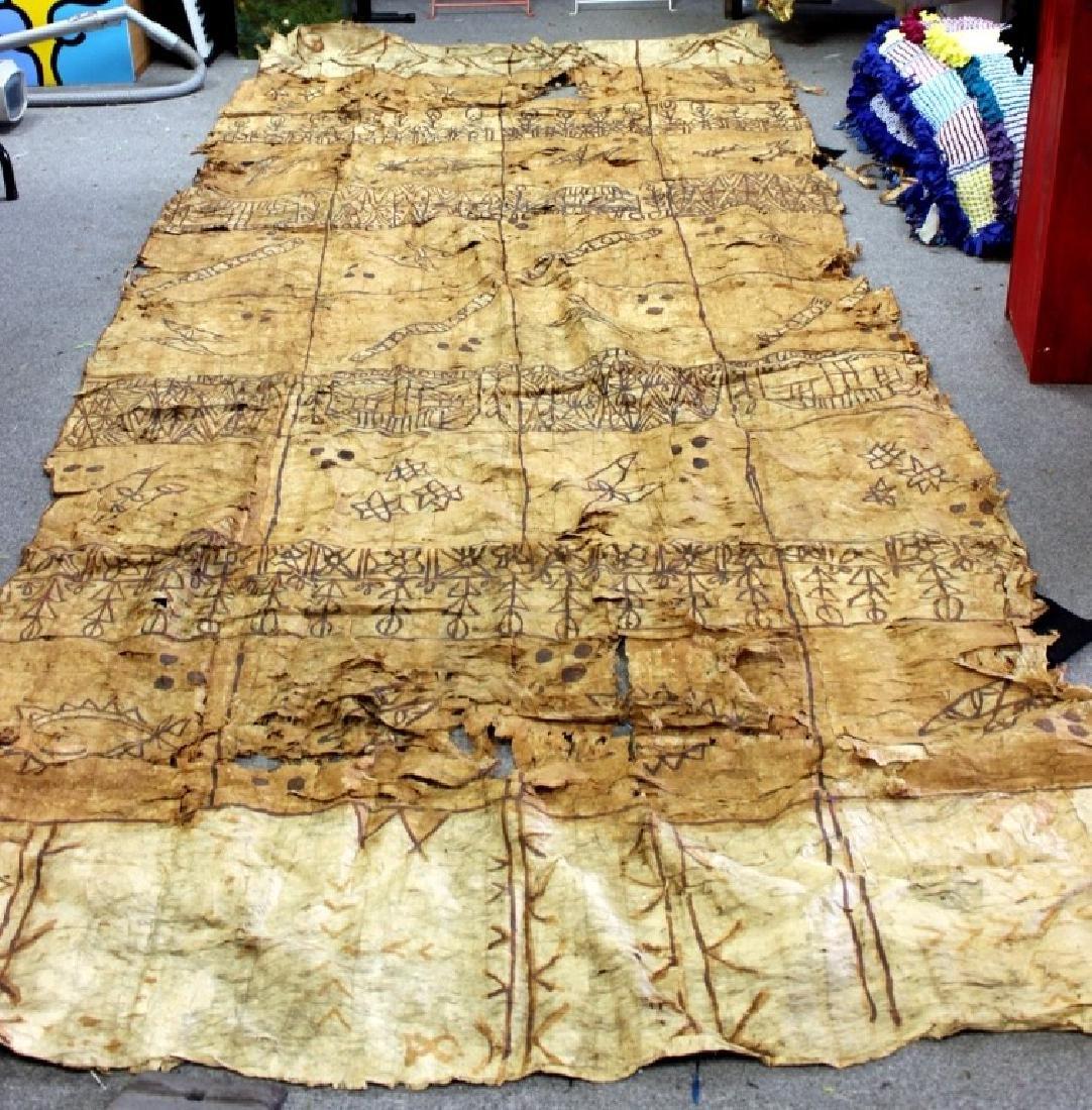 Tapa Cloth, Polynesian - 3