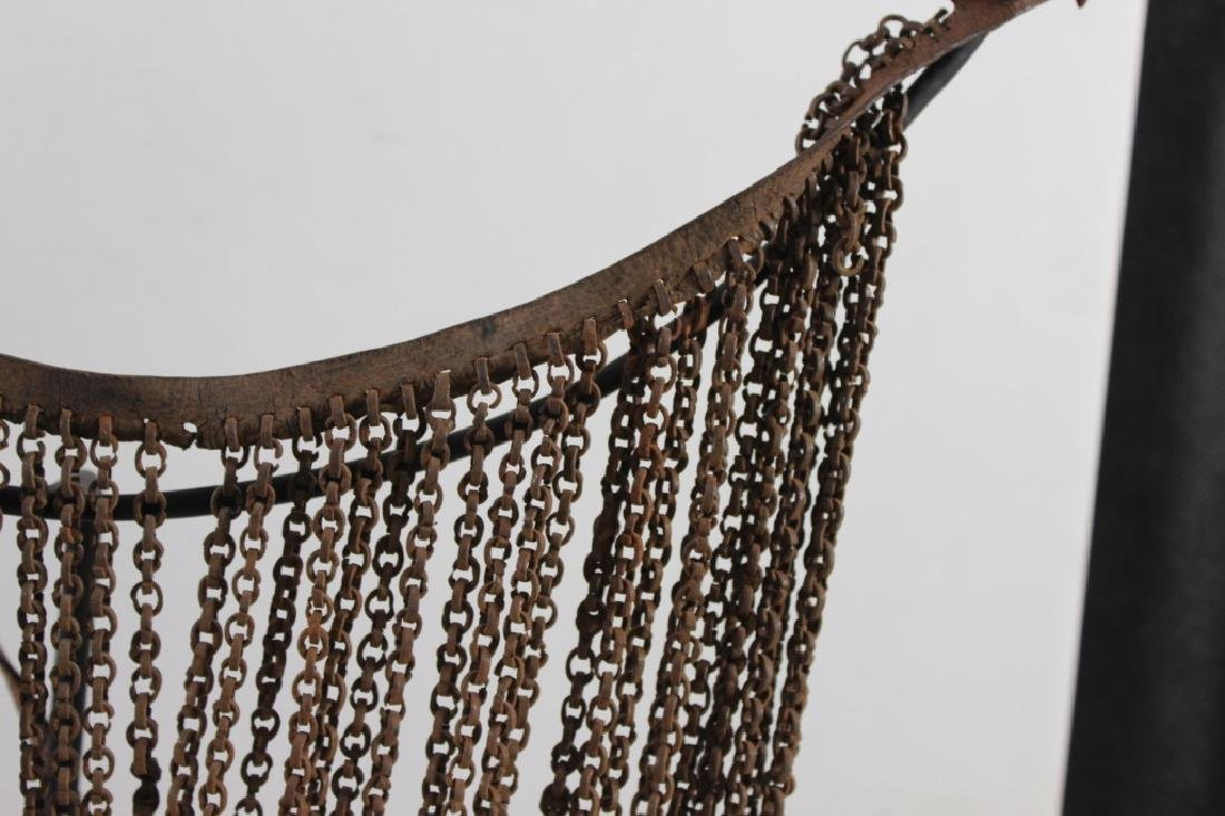 Antique African Chain Necklace - 2