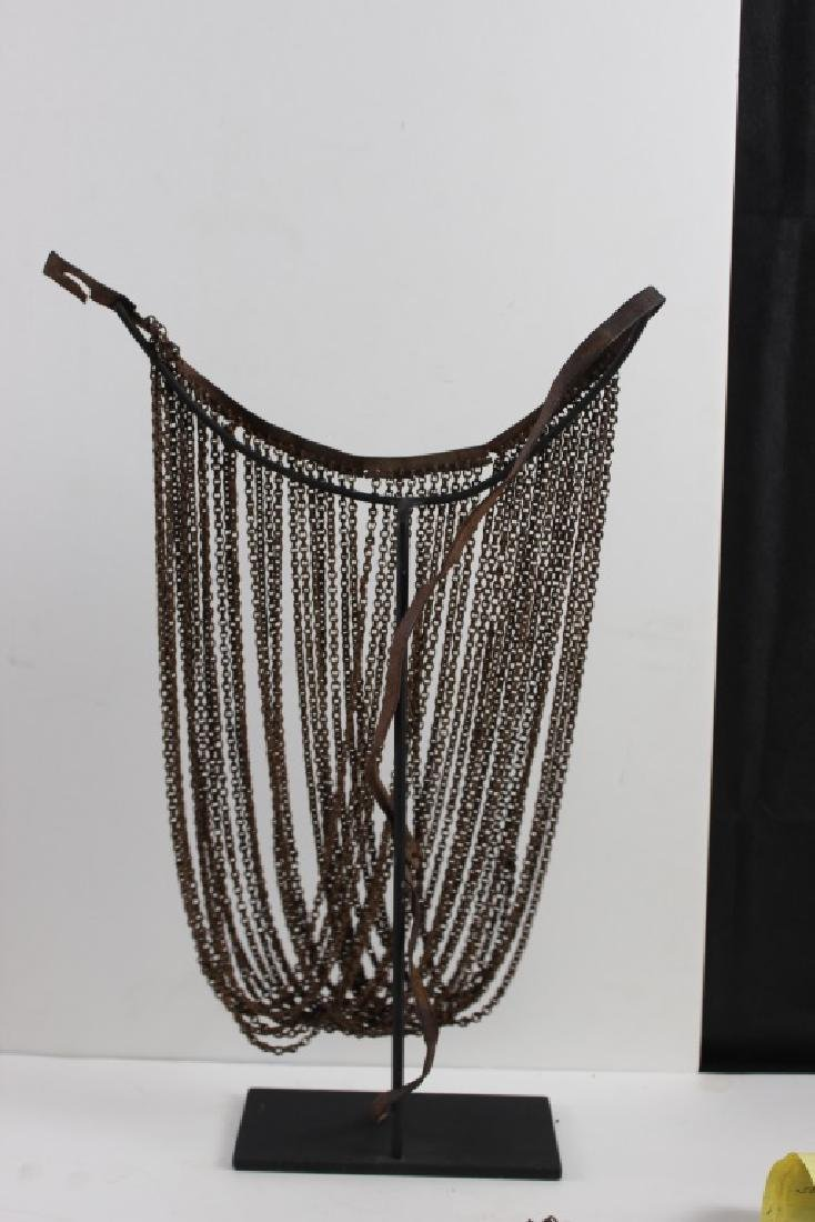 Antique African Chain Necklace - 6