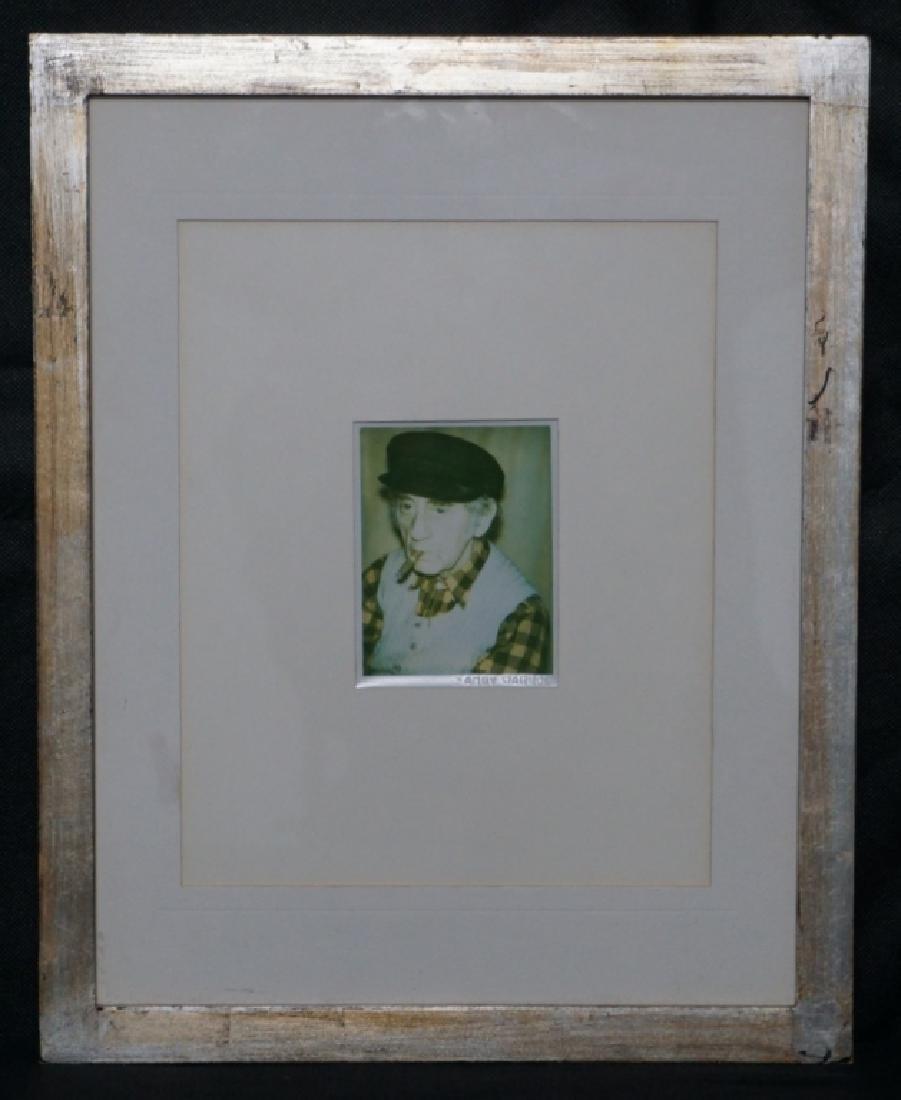 Andy Warhol, 'Man Ray' Polaroid Fred Hughes Estate