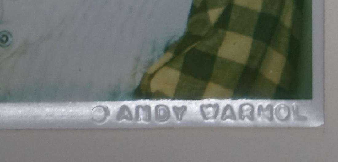 Andy Warhol, 'Man Ray' Polaroid Fred Hughes Estate - 2