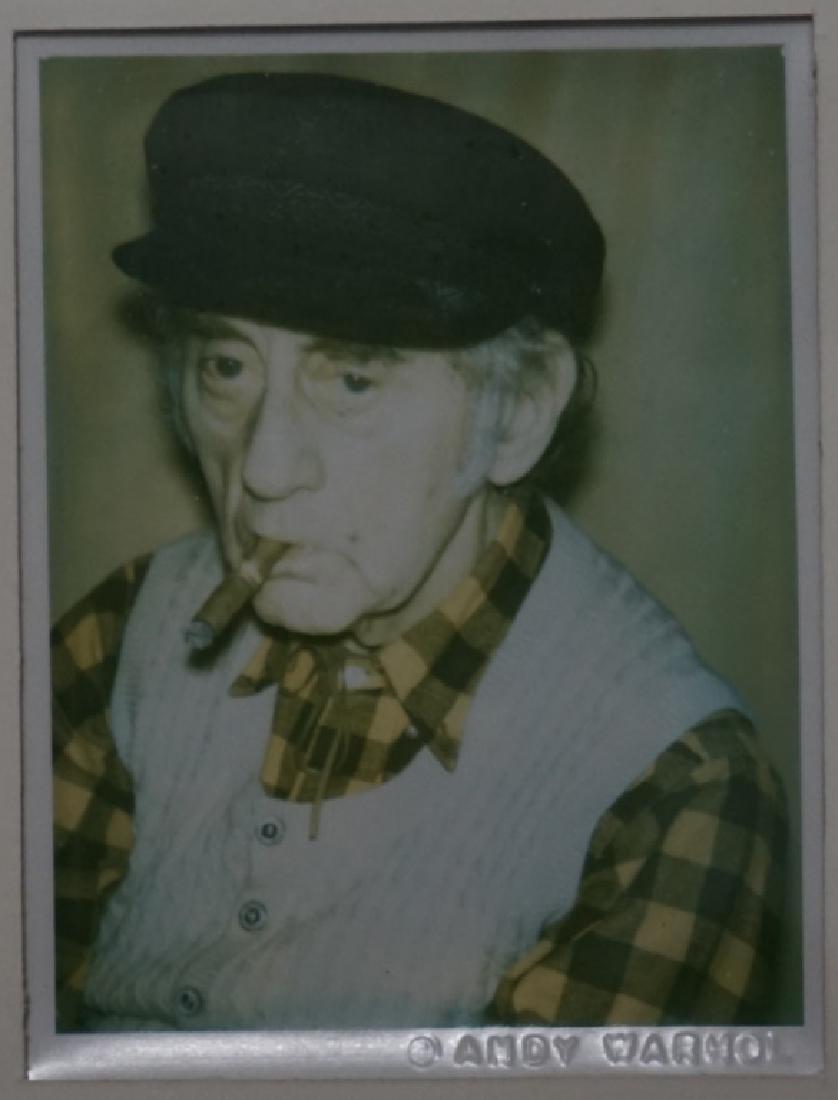 Andy Warhol, 'Man Ray' Polaroid Fred Hughes Estate - 3