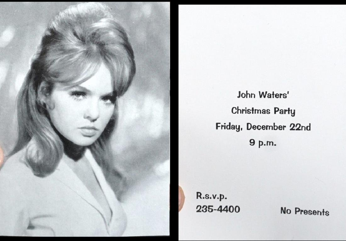 John Waters Signed Christmas Cards (9) - 5