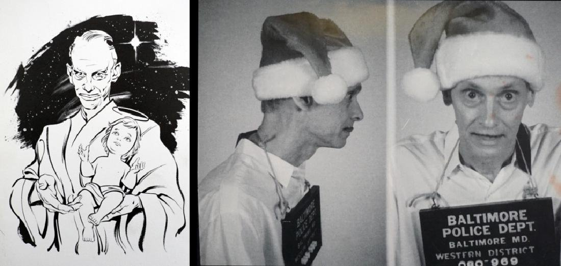 John Waters Signed Christmas Cards (9) - 7