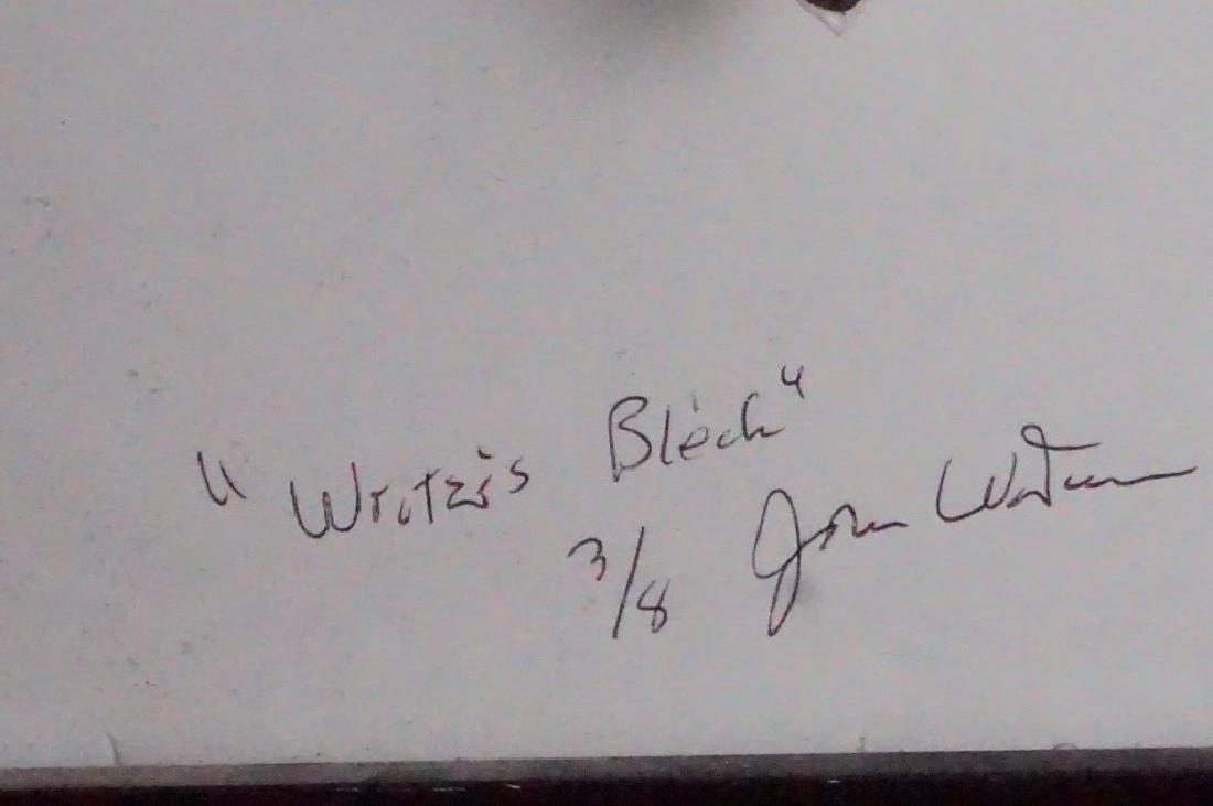 "John Waters (b.1946) ""Writer's Block"" - 6"