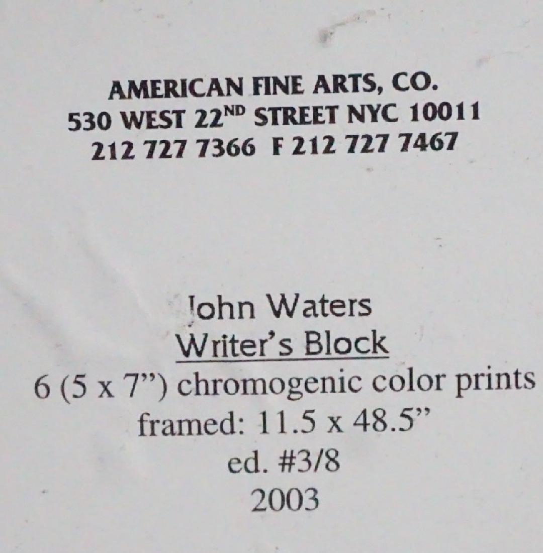 "John Waters (b.1946) ""Writer's Block"" - 7"