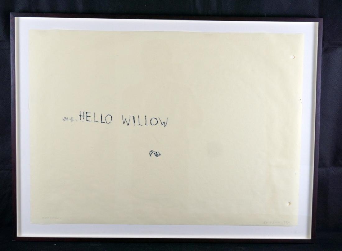 Tracey Emin (b.1953) Monoprint on Paper & Book