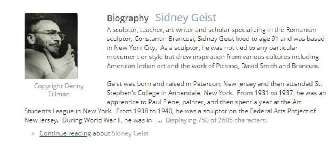 Sidney Geist (1914-2005) - 5