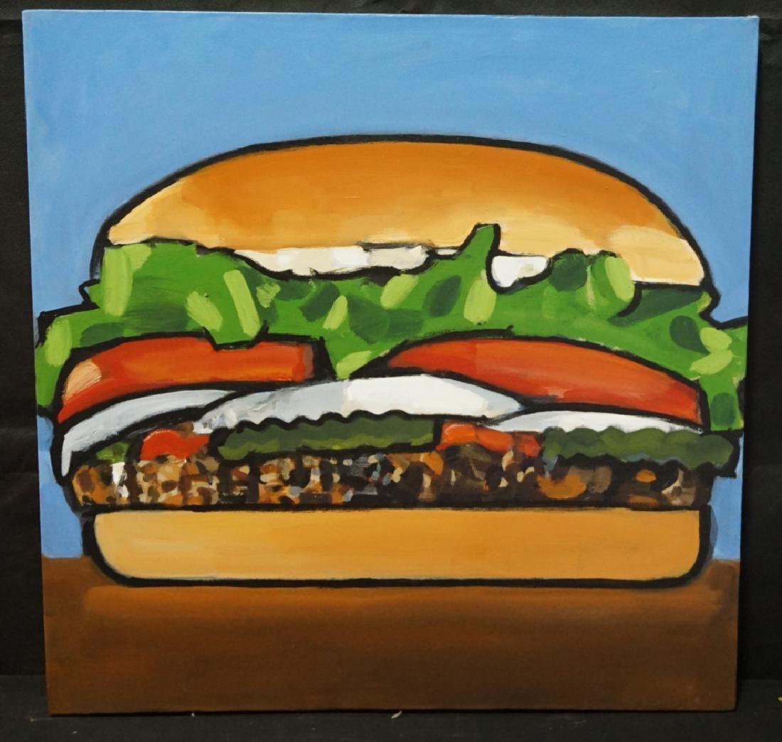 Walter Robinson (b.1950) Whopper Burger