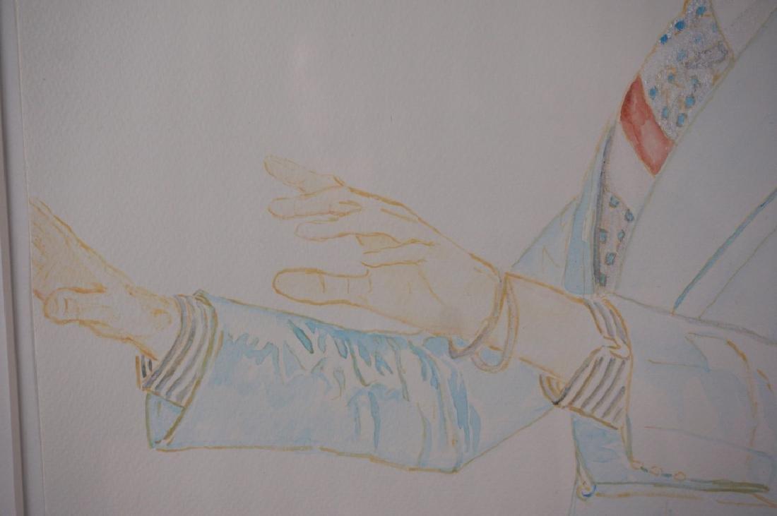 Abetz & Drescher Drawing of David Bowie - 5