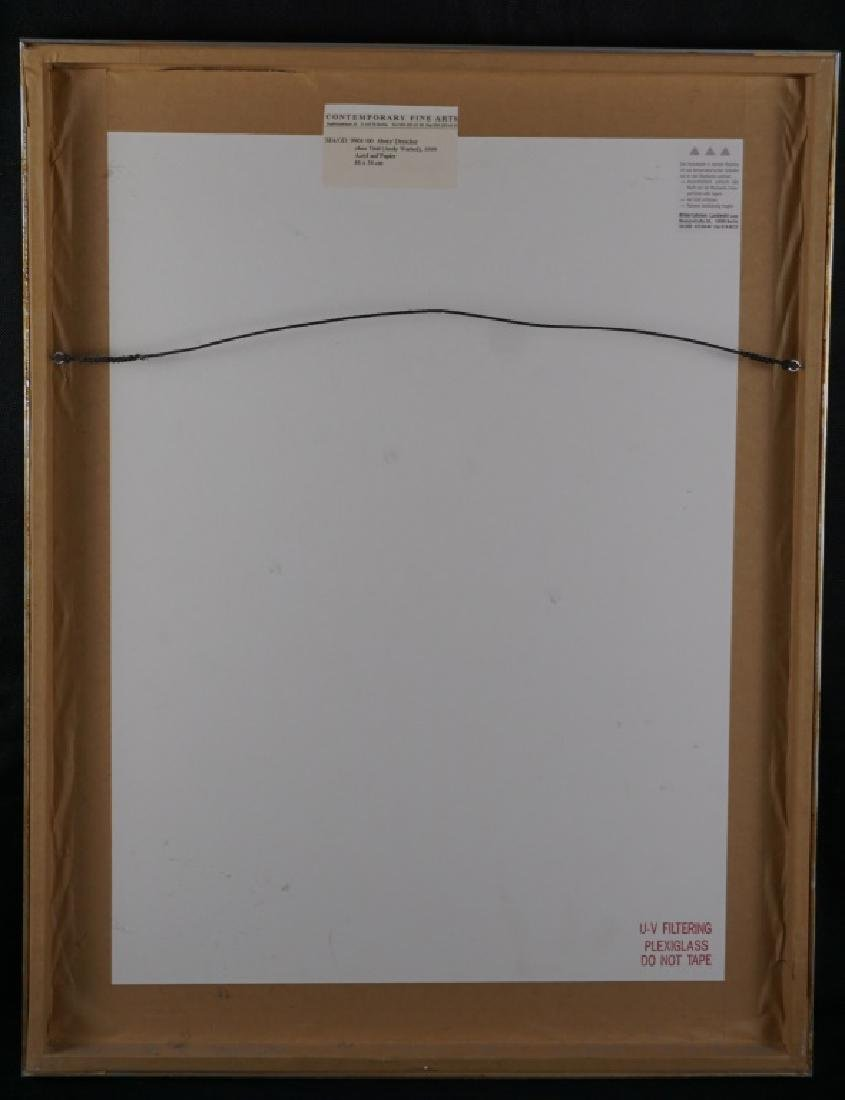 Abetz & Drescher Drawing of Andy Warhol - 4