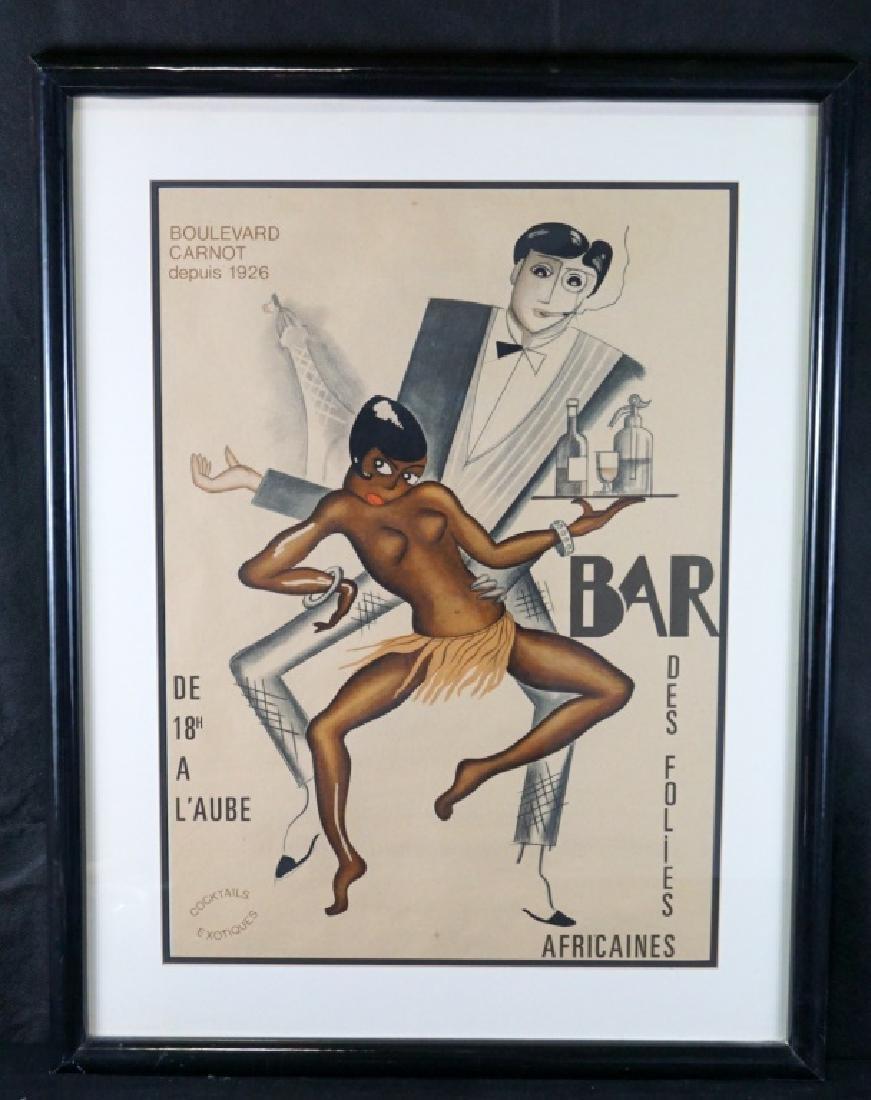 Josephine Baker (1926) Bar Des Folies Africaines