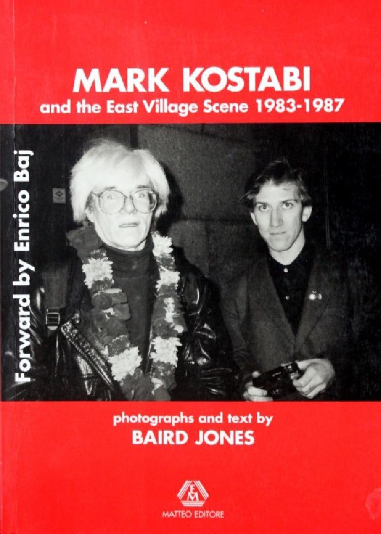 Mark Kostabi 1983-1987 Baird Jones ( Signed)