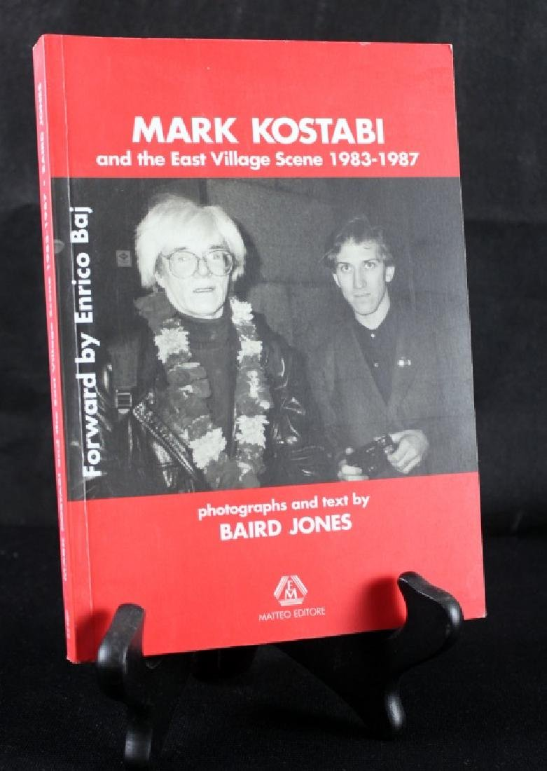 Mark Kostabi 1983-1987 Baird Jones ( Signed) - 3