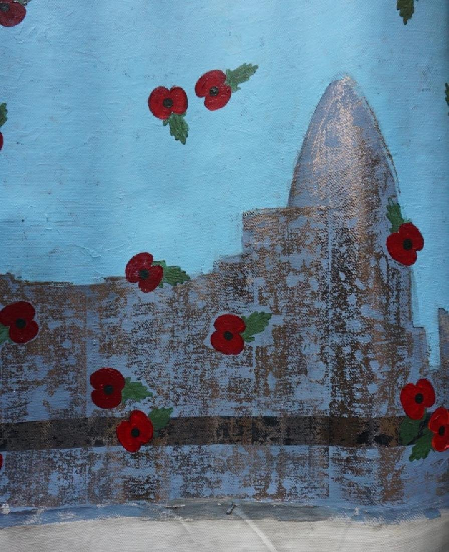 "Yanu Lanole Large Oil Painting"" London"" - 6"