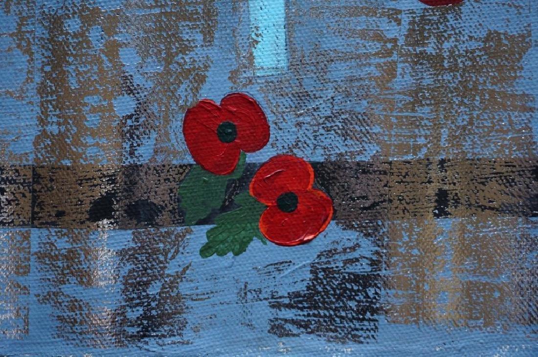 "Yanu Lanole Large Oil Painting"" London"" - 7"