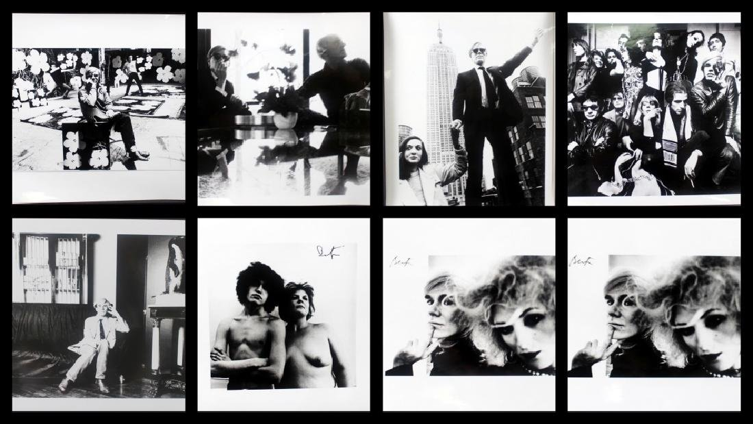 Andy Warhol B/W Photographs by Billy Name (8)