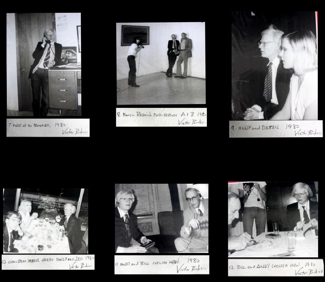 Victor Bockris 15 Signed  Photographs  Andy Warhol - 4