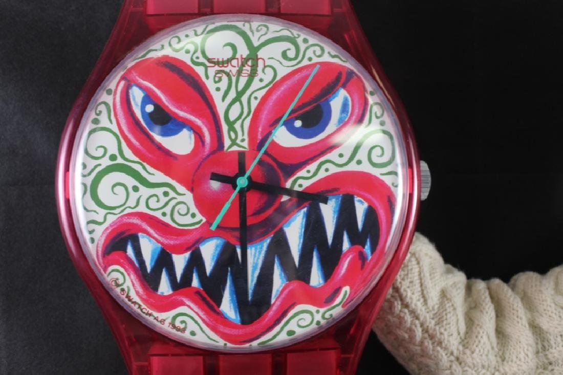 Kenny Scharf Monster Wall Clock (b.1958) - 3