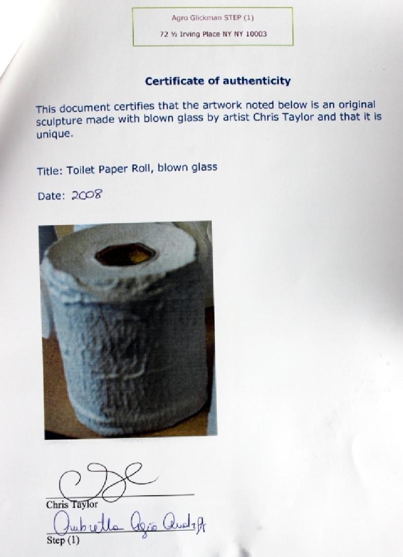 Chris Taylor Bubble Wrap & Toilet Paper - 7