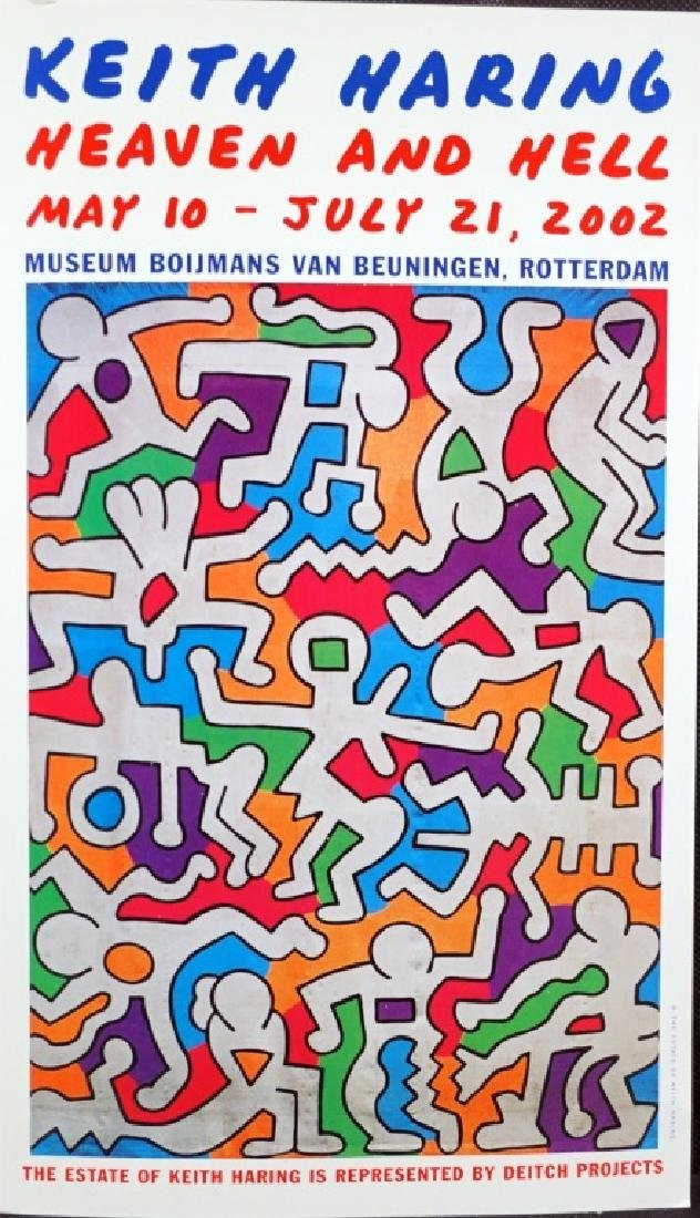 Keith Haring Poster 2002