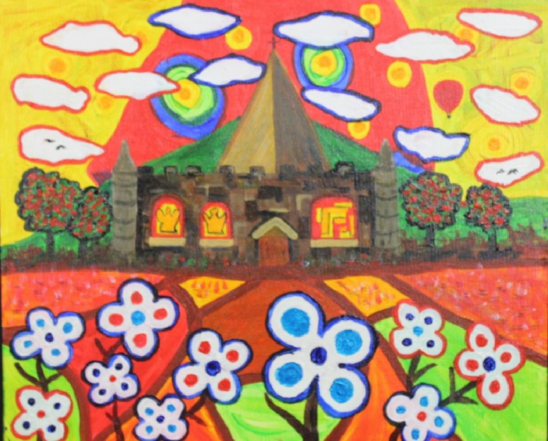 "Roger Pedrick Mouth Artist (b.1956) ""Church"""