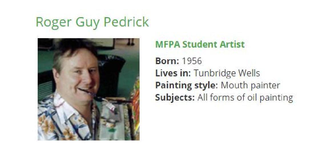 "Roger Pedrick Mouth Artist (b.1956) ""Church"" - 3"