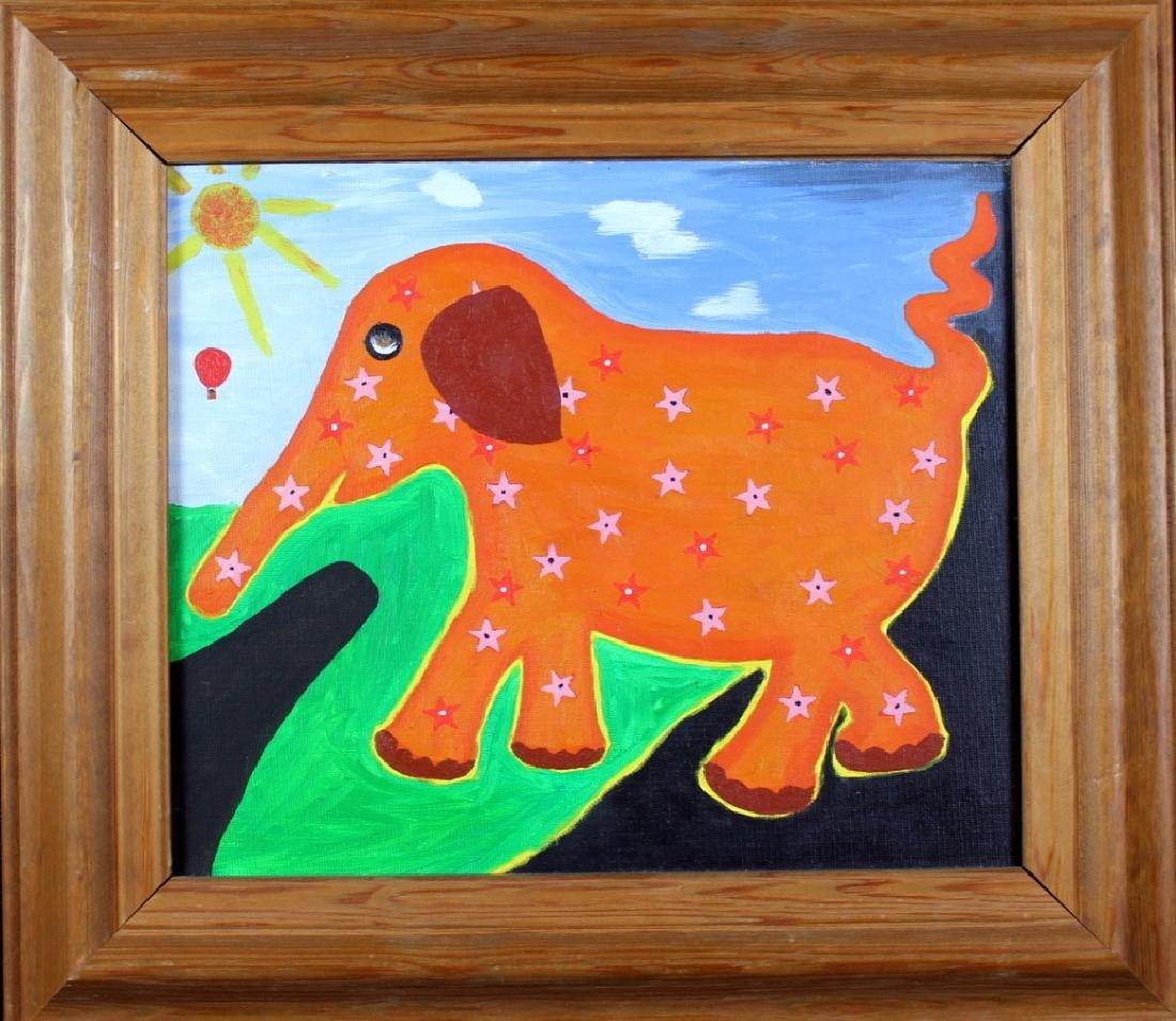 Rodger Pedrick Mouth Artist (b.1956) Elephant