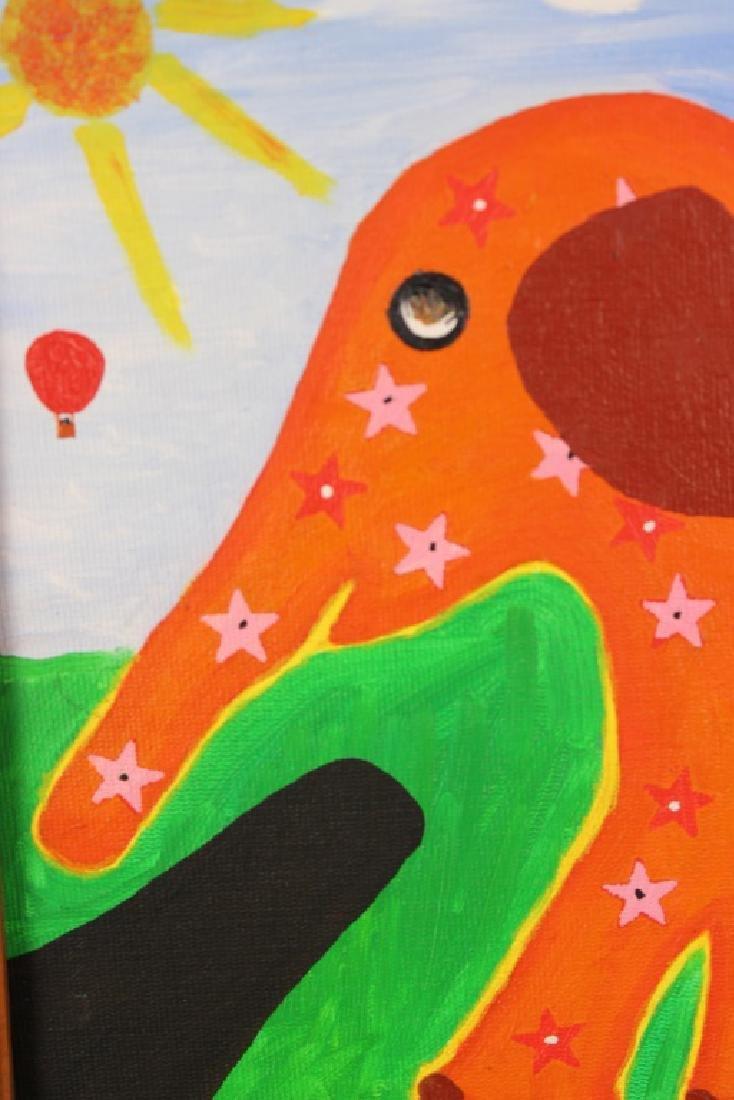 Rodger Pedrick Mouth Artist (b.1956) Elephant - 2